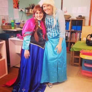 Anna and Elsa Kindy's