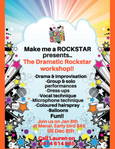 Drama Rockstar workshop 17