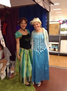 Elsa and Anna Amy