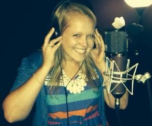 Lauren recording