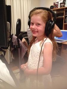 Recording Mia Rose
