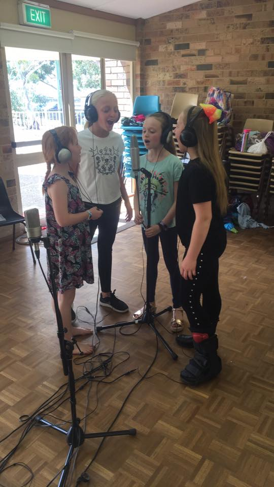 Recording workshop Spring School holidays