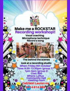 Rockstar Recording workshop 17
