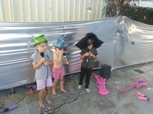 Rockstar party action boys
