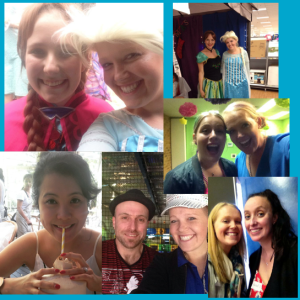 Just some of the amazing people I have the privilege of working with :)