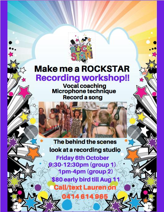 Spring Recording workshop