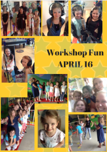 Workshop fun April 16 poster yellow