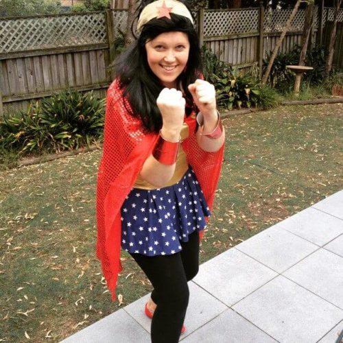 Make Me A Rockstar Wonderwoman